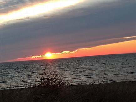 Eastham Cape Cod vacation rental - The joy of sunset at Thumpertown Beach