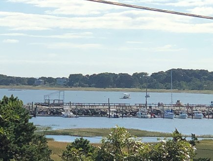 Wellfleet, Pine Point Cape Cod vacation rental - View of Wellfleet Harbor from the front porch.
