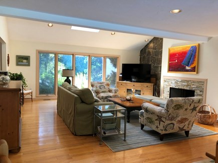 East Falmouth Cape Cod vacation rental - Spacious Living Room, Cable TV with HBO and Showtime