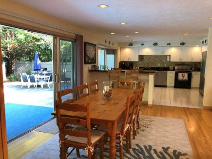 East Falmouth Cape Cod vacation rental - Dining Room seats eight comfortably.
