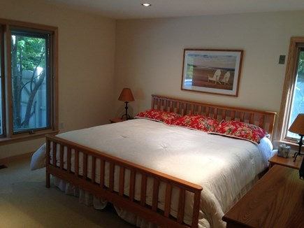 East Falmouth Cape Cod vacation rental - Master Suite on first floor with Cable & Flatscreen