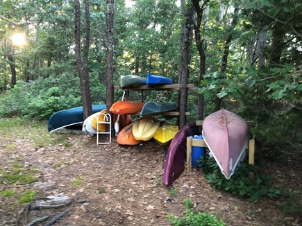 East Falmouth Cape Cod vacation rental - Use our kayaks, canoe or paddleboards to explore Waquoit Bay.