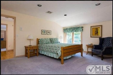 East Falmouth Cape Cod vacation rental - Spacious Queen bedroom upstairs