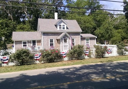 North Eastham Cape Cod vacation rental - Decked out for the 4th of July.