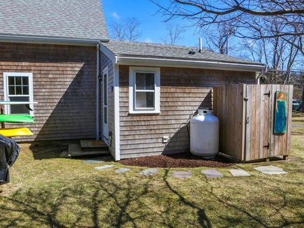 North Eastham Cape Cod vacation rental - Outdoor shower.