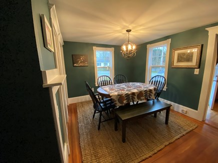 North Eastham Cape Cod vacation rental - Dining room, seats 6.