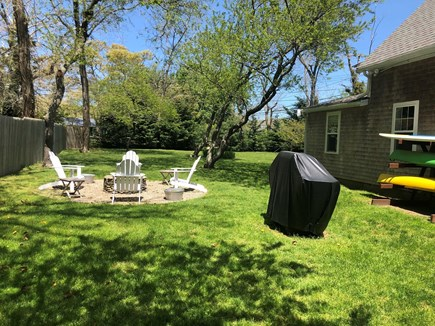 North Eastham Cape Cod vacation rental - Half an acre of sunny back yard.