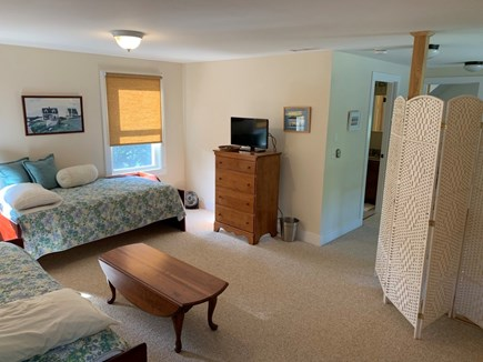 Orleans- East Orleans Cape Cod vacation rental - #2 Upstairs Bedroom, room divider, 2 reg size twins