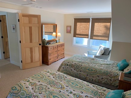 Orleans- East Orleans Cape Cod vacation rental - #1 Upstairs bedroom with two extra long twin beds