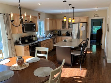 Orleans- East Orleans Cape Cod vacation rental - Dining area and kitchen