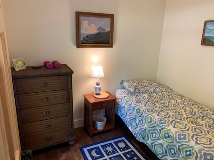 Orleans- East Orleans Cape Cod vacation rental - Bedroom off the living room area with one regular size twin bed
