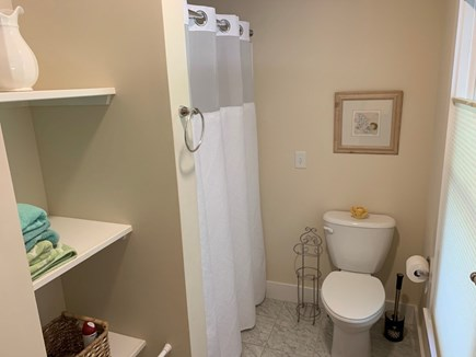 Orleans- East Orleans Cape Cod vacation rental - Master bathroom shower area