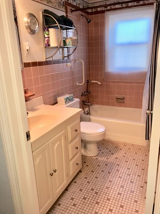 Falmouth Heights Cape Cod vacation rental - First floor bathroom.