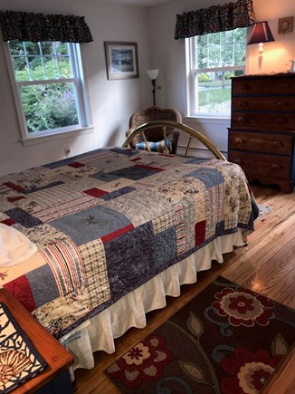 Falmouth Heights Cape Cod vacation rental - First floor queen bedroom.