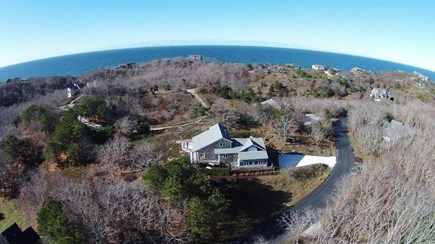 Truro Cape Cod vacation rental - Ariel view - Short walk to beach