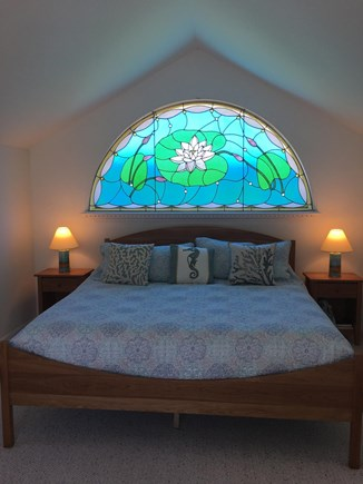 Truro Cape Cod vacation rental - Master bedroom with king size bed