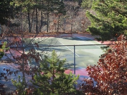 Truro Cape Cod vacation rental - Community tennis court 2 houses away.