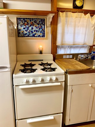 Wellfleet Cape Cod vacation rental - Kitchen includes all appliances.