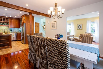Orleans Cape Cod vacation rental - Dining room adjacent to the kitchen
