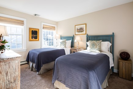 Provincetown Cape Cod vacation rental - Guest bedroom number two with twin bed set up