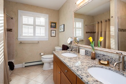 Provincetown Cape Cod vacation rental - Bedroom one and two shared bathroom