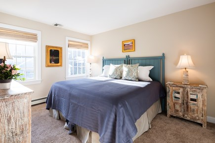 Provincetown Cape Cod vacation rental - Guest bedroom number two with king bed set up