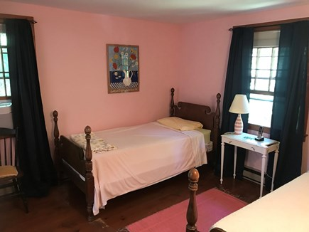 Wellfleet Cape Cod vacation rental - Bedroom with two twins
