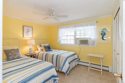 Mashpee, Popponesset Cape Cod vacation rental - Twin bedroom with A/C unit