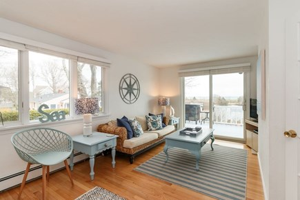 Mashpee, Popponesset Cape Cod vacation rental - Sun room with TV, A/C unit and water views