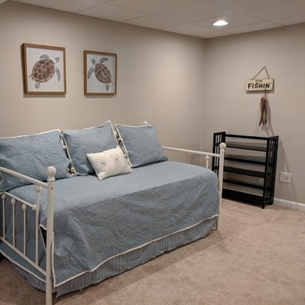 Mashpee, Popponesset Cape Cod vacation rental - Day bed with trundle (2 single beds) located in the lower level