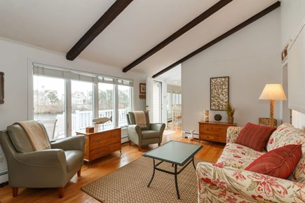 Mashpee, Popponesset Cape Cod vacation rental - Living room with water views