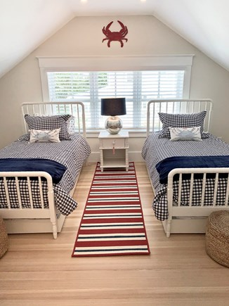 Harwich Port, Wychmere Harbor  Cape Cod vacation rental - Upstairs bedroom with 2 twin beds & 2 trundles