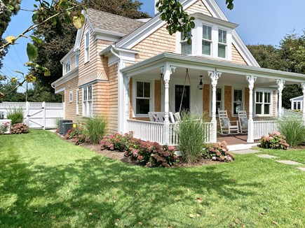 Harwich Port, Wychmere Harbor  Cape Cod vacation rental - front yard & house