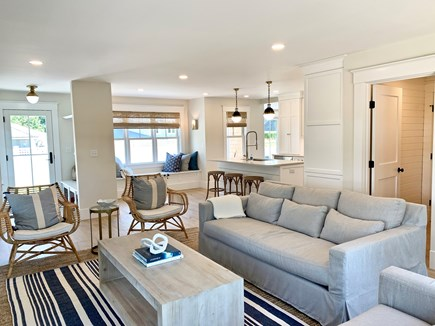 Harwich Port, Wychmere Harbor  Cape Cod vacation rental - Family room & kitchen
