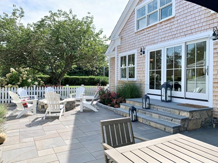 Harwich Port, Wychmere Harbor  Cape Cod vacation rental - Patio & outdoor fire pit