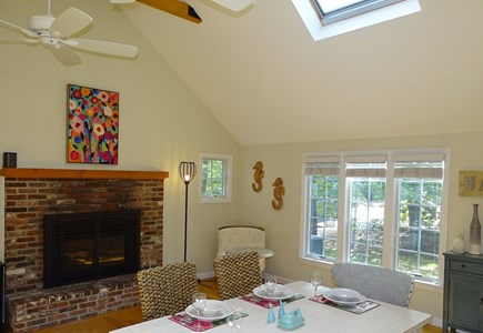 Eastham Cape Cod vacation rental - Dining area opens to kitchen and living room