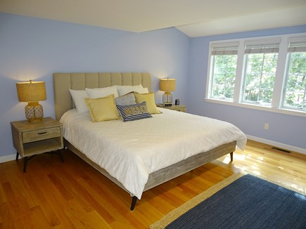 Eastham Cape Cod vacation rental - King master bedroom with private bath and walk-in closet