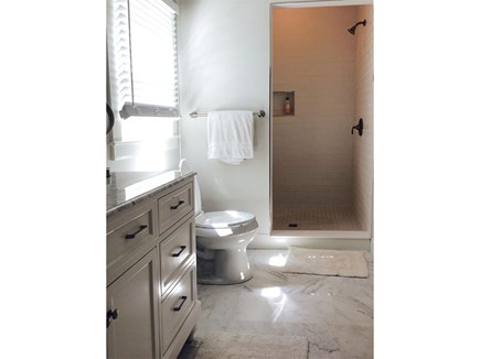 North Eastham Cape Cod vacation rental - Master bedroom bathroom (en suite)