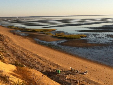 North Eastham Cape Cod vacation rental - Silver Springs Beach Road Beach