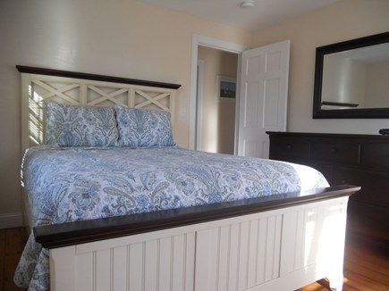 Hyannis Cape Cod vacation rental - Front room with queen bed