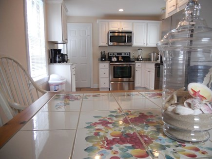 Hyannis Cape Cod vacation rental - Dining to kitchen