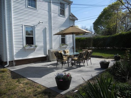 Hyannis Cape Cod vacation rental - Relaxing Private Patio