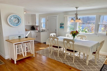 Falmouth Cape Cod vacation rental - Dining and kitchen