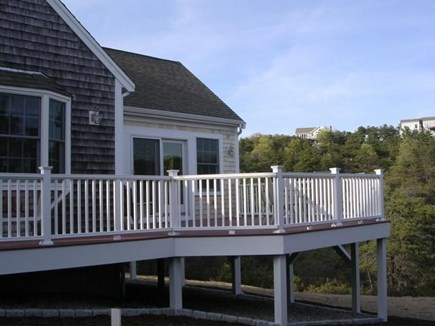 Truro Cape Cod vacation rental - Another view of the Deck