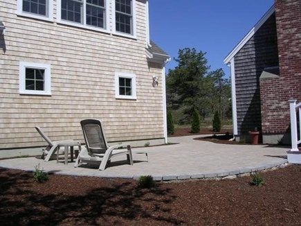 Truro Cape Cod vacation rental - Large Patio with nearby enclosed outdoor shower