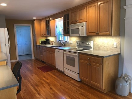 Truro Cape Cod vacation rental - Kitchen with updated granite counters