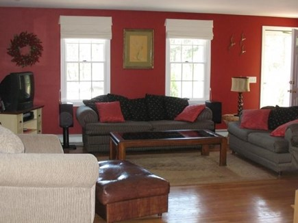 Truro Cape Cod vacation rental - Another view of the living room