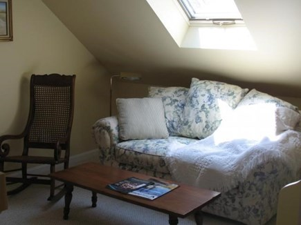 Truro Cape Cod vacation rental - Reading Nook upstairs