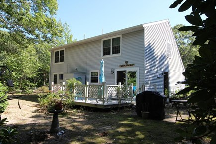 Truro Cape Cod vacation rental - Back yard
