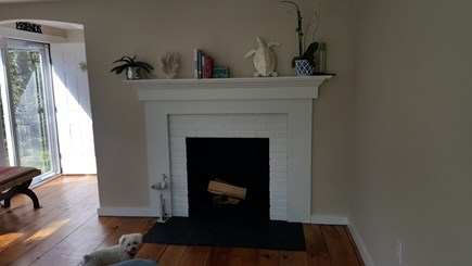 Barnstable, Osterville Cape Cod vacation rental - Fireplace